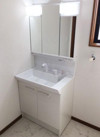 1階洗面化粧台